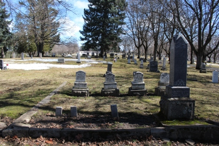 Headstones of the Showalter Family and Children, Moscow, ID