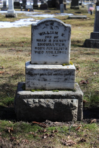 Headstone of William E. Showalter, Moscow Cemetery, Moscow, ID