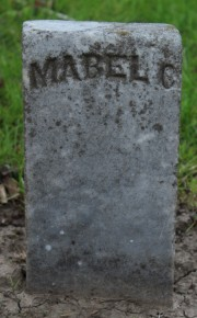 Schlup, Mabel Clare. Born 2/10/1889. Died 11/23/1896.